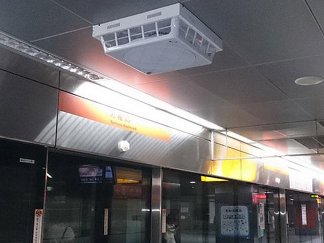 地铁站安装